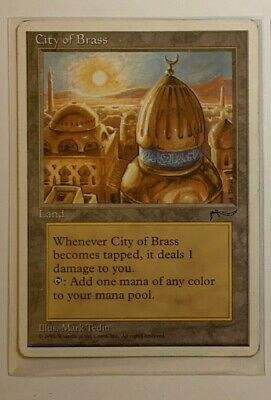 City of Brass Fallen Angel Chronicles MTG Magic The Gathering