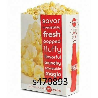 AMC Large Popcorn expiration date 6/30/2020 electronic delivery