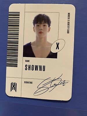 [MONSTA X] Follow: Find You Official Shownu X Version ID Photocard
