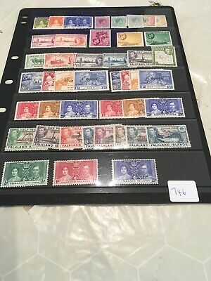 High Cat Value George VI British Commonwealth Collection On Hagner  our Ref 746