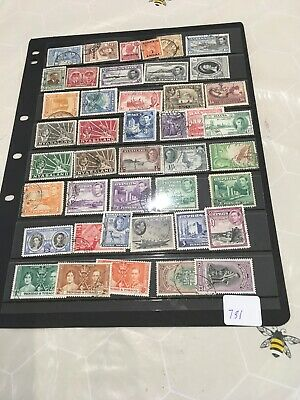 High Cat Value George VI British Commonwealth Collection On Hagner  our Ref 731