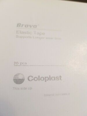 1 x 20 (60) Coloplast Brava Elastic tape Brand new and sealed.
