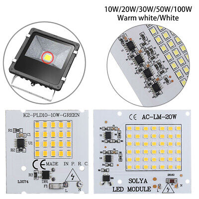 220V Input  10W 20W 30W 50W 100W Smart IC Driver Lamp LED Chip Beads  SMD2835