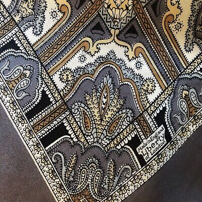 Pretty Vintage Early LIBERTY Of London Paisley Style Print Silk Scarf