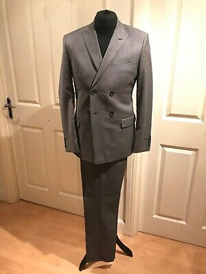 Ben Sherman Men's rally nice double breast suite 2 pieces (blazer and trousers s