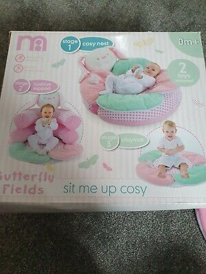 Mothercare Butterfly Fields Sit Me Up Cosy Nest 🐇