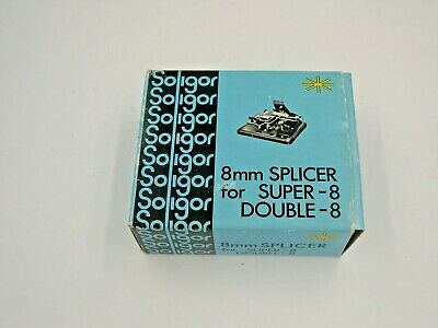 Soligor 8mm Splicer For Super-8 And Double Super-8