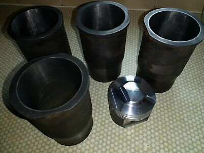 RENAULT  GORDINI ALPINE 1600s EUROPA TO 1596CC FORGED PISTON AND LINER SET!