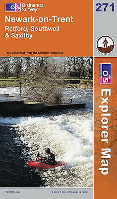 Newark-on-Trent by Ordnance Survey (Sheet map, folded, 2006)