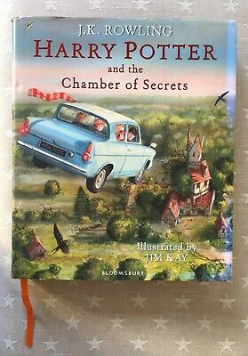 Harry Potter and the chamber of secrets Illustrated by JIM KAY