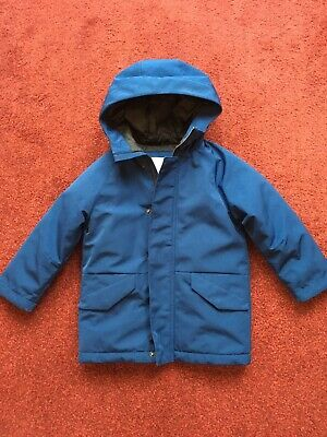 Boys Blue Winter Coat From Next Age 4 Yrs. Excellent Condition.