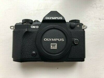 Olympus OM-D E-M5 Mark II 16.1 MP Digital Camera with Flash, Battery Grip & More