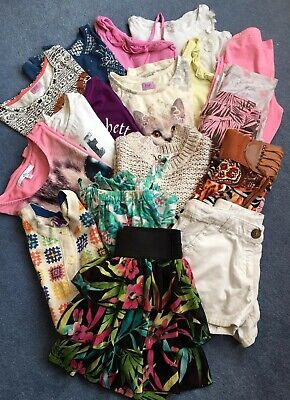 Girls Summer/Spring 18 item Clothes Bundle for 9 year old
