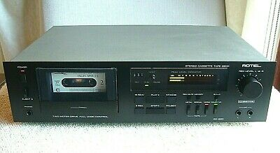 Quality Rotel Stereo Cassette Tape Deck RD-860 *Free Brand New Tapes x3*