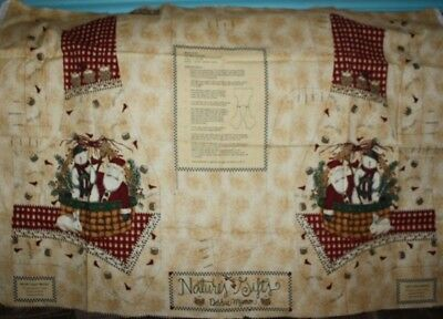 Classicly Trained Fabric Panel by Debbie Mumm for Willmington 23x44