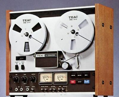 TEAC A-2300SX Open reel GREAT shape FULLY SERVICED , Entretient complet