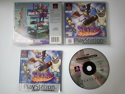 Spyro Year of the Dragon 3 Sony Playstation 1 English PS1 PSX PAL CIB complete !