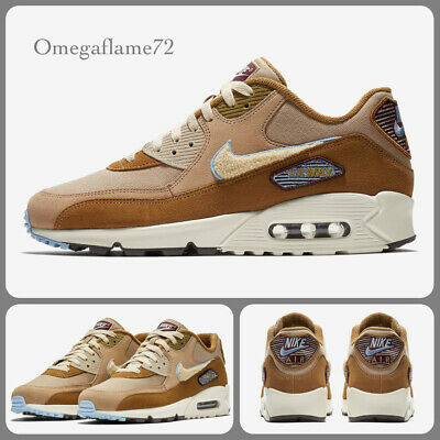 NIKE AIR MAX 90 Premium SE, 858954 200, Sz UK 8, EU 42.5, US