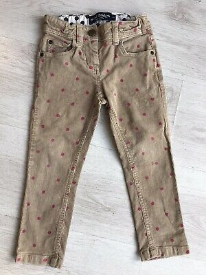 Mini Boden Spotty Girls Cords Jeans, Age 4