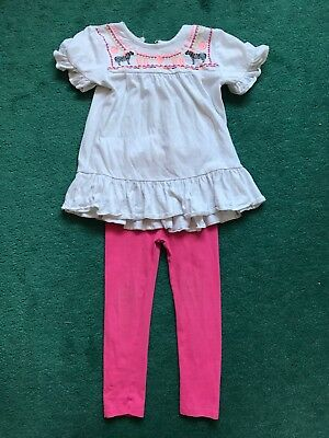 Matalan Girls Outfit/set 3-4 Years Good Condition