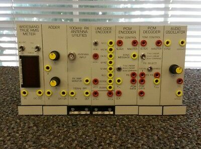 Set of (7) Cards for EMONA TIMS-301C Chassis Communications Systems Modeling