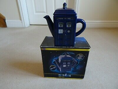 Doctor Who Tardis Tea Pot With Original Box - In An Excellent Condition !