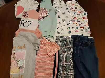 Girls Clothes Bundle, Age 10 to 11Years matalan  select  primark  jumper  top