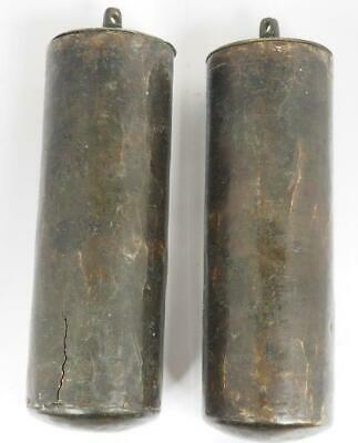 Antique Longcase Brass Weights Bronze Lead Weights For Grandfather Clock 18THC 3