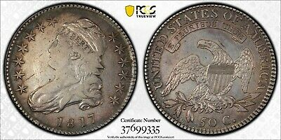 1817 Capped Bust Half Dollar O-105a Prime R6!