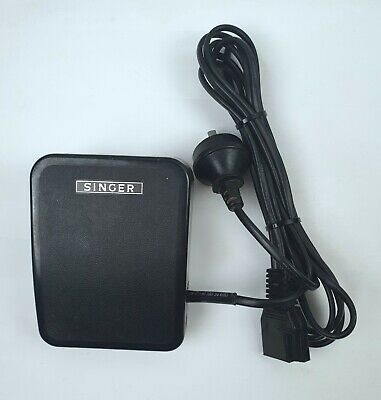 Singer / YDK Sewing Machine Pedal / Controller with Power Cable Model YC-450