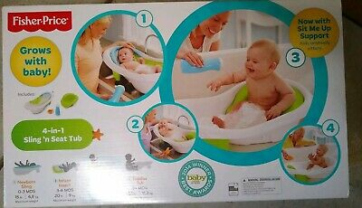 Fisher-Price BDY86 4-in-1 Sling 'n Seat Tub