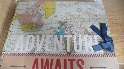 hobbycraft adventure awaits ring bound scrapbook-new
