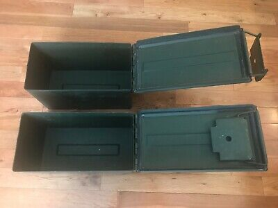 US MILITARY .50 CAL 5.56mm 7.62 Military AMMO CAN M2A1 50CAL METAL AMMO CAN BOX