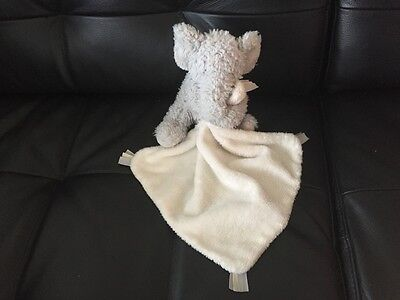 Little Jellycat Bashful Elephant Soother Blankie Comforter Soft Toy