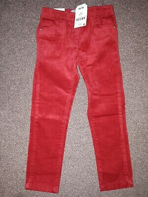 Girls age 4 velvet trousers NEXT BNWT RRP £14