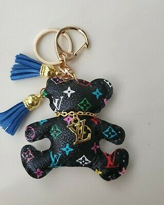 Multi-Color Teddy Bear Fashion Keychain Animal Cute Charm Gift Decoration 01332D