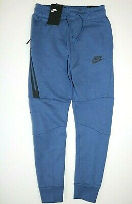 Nike Sportswear Tech Fleece Pants Joggers - Blue 804818-469 - Boys M 10-12 Years