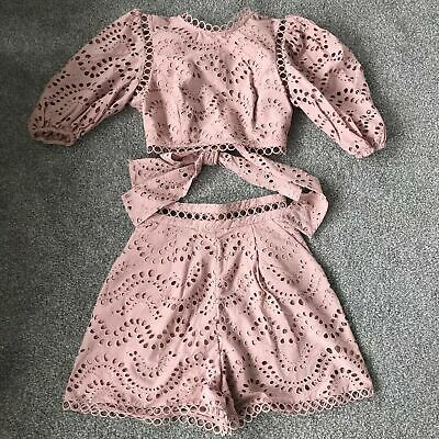 Authentic Zimmermann dress playsuit shorts and top set
