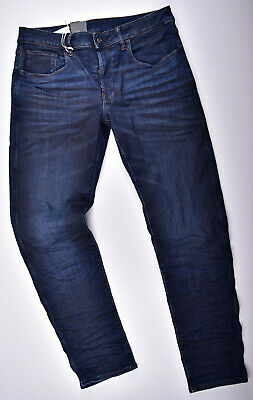 G-star Raw 3301 Deconstructed Sottile W33 L32 Superstretch Jeans Uomo Blu