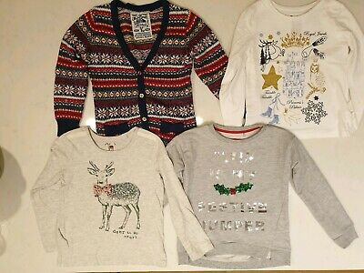 Set of four Christmas clothes 6-7 years vgc