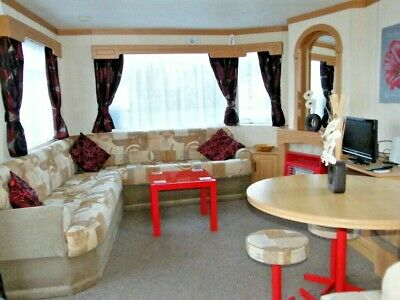 STATIC CARAVAN FOR SALE on BUTLINS SKEGNESS Atlas 3 bedroom 35ft x 10ft 8 berth