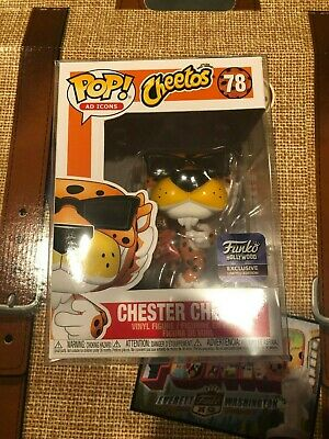Funko Pop! Chester Cheetah *Funko Hollywood Grand Opening* + Protector IN HAND