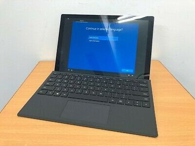 Microsoft Surface Pro 2017 - Core i5-7300U / 4GB RAM / 128GB SSD / LTE / Cover