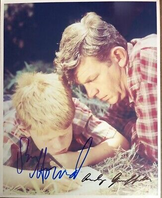Andy Griffith Ron Howard AUTHENTIC HAND SIGNED 8x10 Photo The Andy Griffith Show