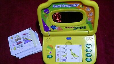 Rare My First Quiz Kid Computer Agglo Corporation Card Computer