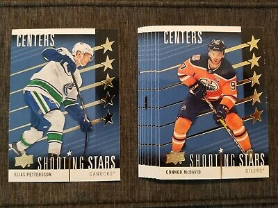 2019-20 Upper Deck Hockey Series 1 Shooting Stars Blue U Pick