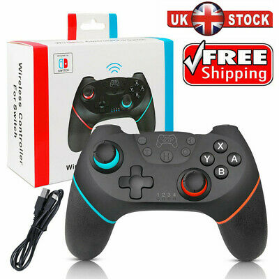 New Wireless Bluetooth GamePad Pro Controller For Nintendo Switch Console UK