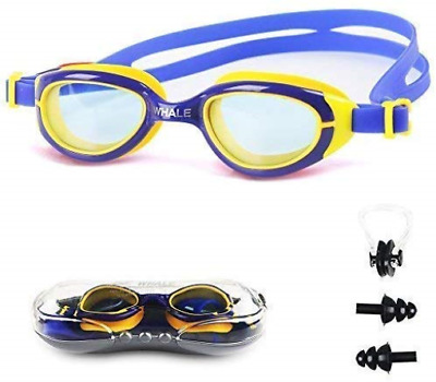 Hootracker Kids Swimming Goggles Junior Children Girls Boys Early Teens Age with