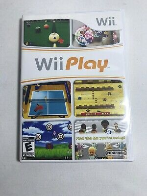 Wii Play Sports Games (Nintendo Wii) FAST FREE SHIPPING