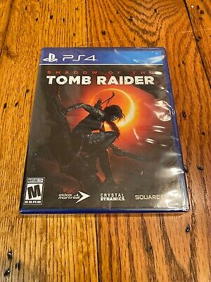 SHADOW OF THE TOMB RAIDER PlayStation 4 PS4 Game BRAND NEW SEALED